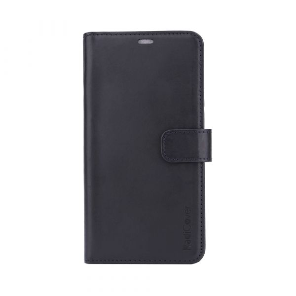 Exclusive 2-in-1 - iPhone Xs MAX - genuine leather - 86% - black