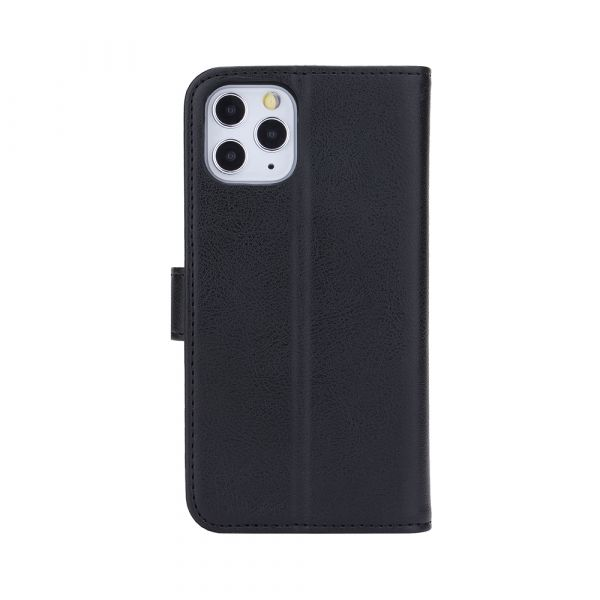 Fashion - iPhone 11 PRO - vegan leather - 86% protection - black