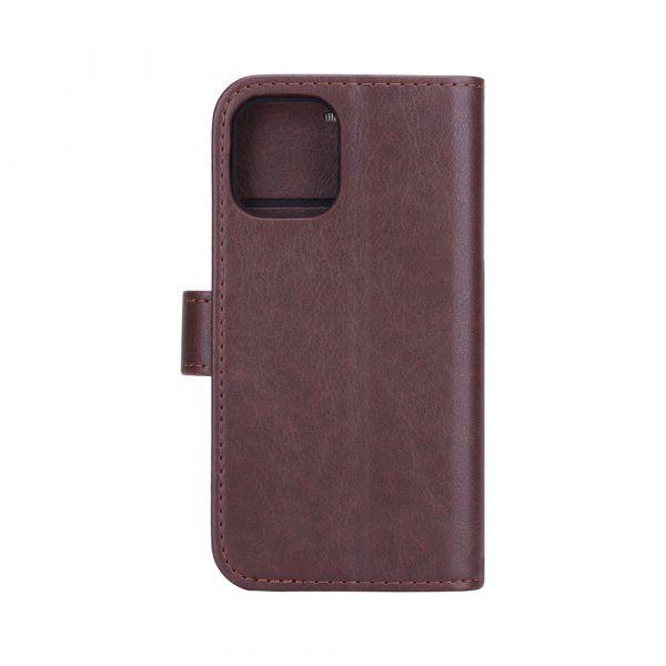 Fashion - iPhone 12 MINI - vegan leather - 86% protection - brown