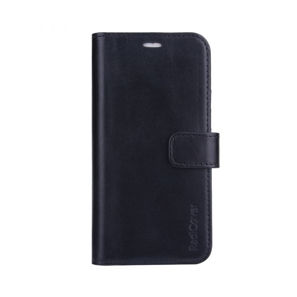 Exclusive 2-in-1 - iPhone 13 PRO - genuine leather - 86% protection - black