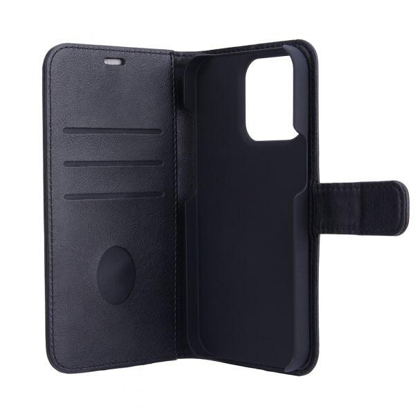 Fashion - iPhone 13 PRO MAX - vegan leather - 86% protection - black