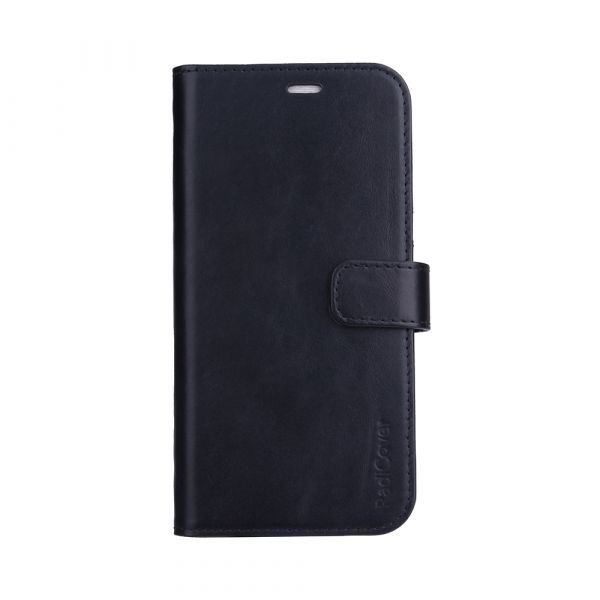 Exclusive 2-in-1 - iPhone 13 PRO MAX - genuine leather - 86% protection - black